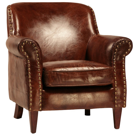 Dovetail Furniture - Eton Club Chair - DOV1107