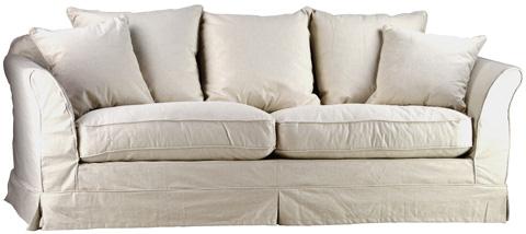 Dovetail Furniture - Salt & Pepper Carlisle Sofa - DOV140-05