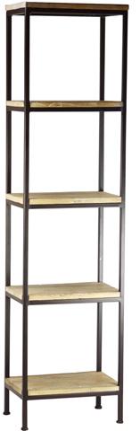 Dovetail Furniture - Derry 5 Shelf Bookcase - DOV149