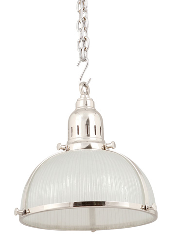 Dovetail Furniture - Hanging Light with Glass - DOV2218