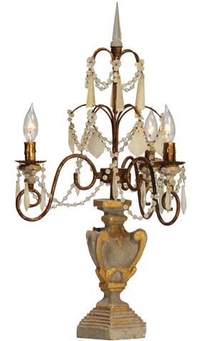 Dovetail Furniture - Carew Table Lamp - DOV2261