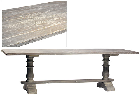 Dovetail Furniture - 8' Talbot Dining Table - DOV2507-8