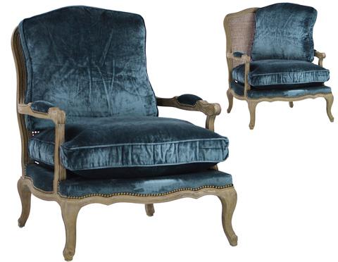 Dovetail Furniture - Emanuel Bergere Chair - DOV2589