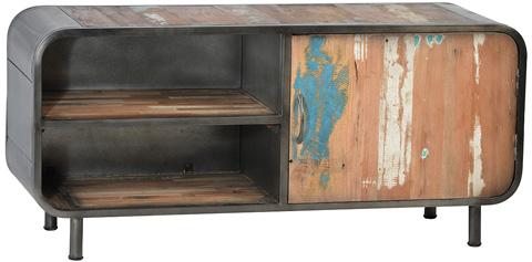 Dovetail Furniture - Dalton Plasma Stand - DOV2679