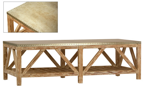 Dovetail Furniture - Clifton Coffee Table - DOV3501