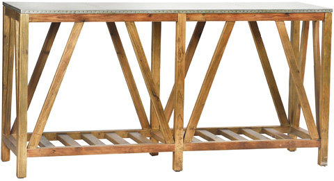 Dovetail Furniture - Clifton Sofa Table - DOV3503