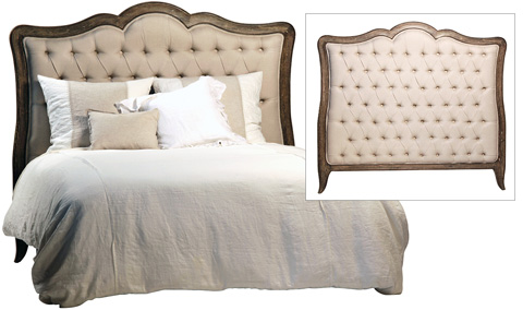 Dovetail Furniture - Carroll California King Headboard - DOV3505CK