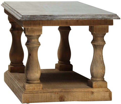 Dovetail Furniture - Palermo End Table - DOV5023