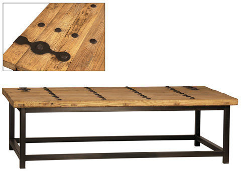 Dovetail Furniture - Moa Coffee Table - DOV628