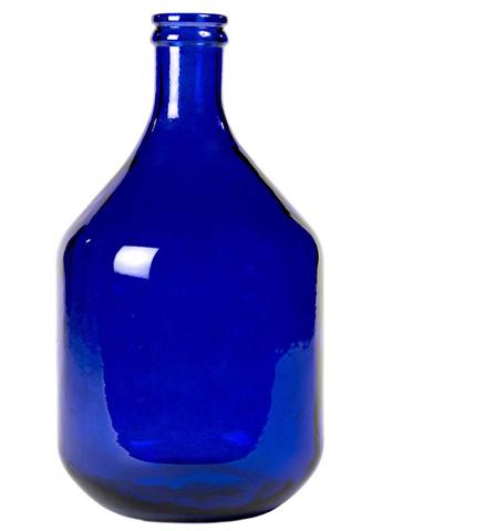 Dovetail Furniture - Medium Blue Olive Bottle - DOV6500BL