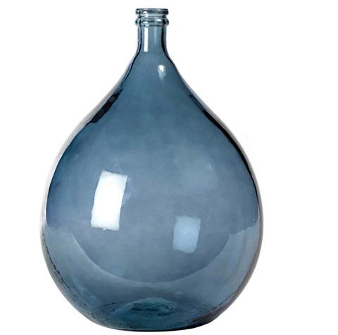 Dovetail Furniture - Large Grey Olive Bottle - DOV6501GY