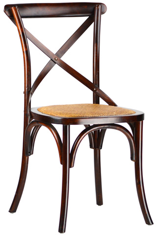 Dovetail Furniture - Brown Gaston Chair - DOV719
