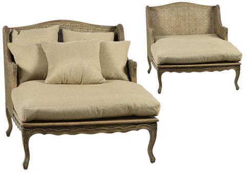 Dovetail Furniture - Madeleine Chaise - DOV9502