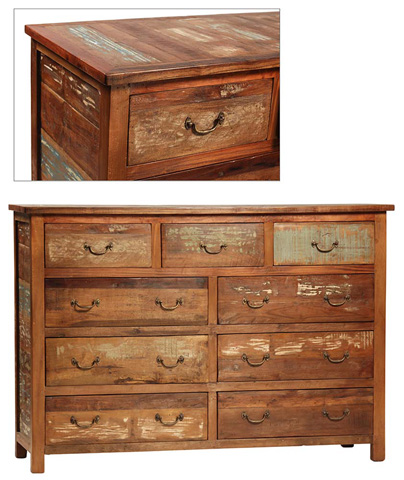 Nantucket 9 Drawer Dresser