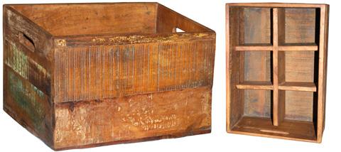 Dovetail Furniture - Wine Bottle Box - NE223