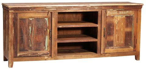 Dovetail Furniture - Nantucket 2 Door Plasma - NE383