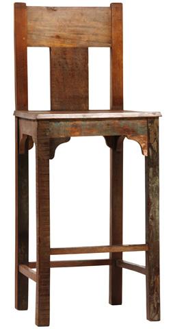 Dovetail Furniture - Nantucket Bar Chair - NE4