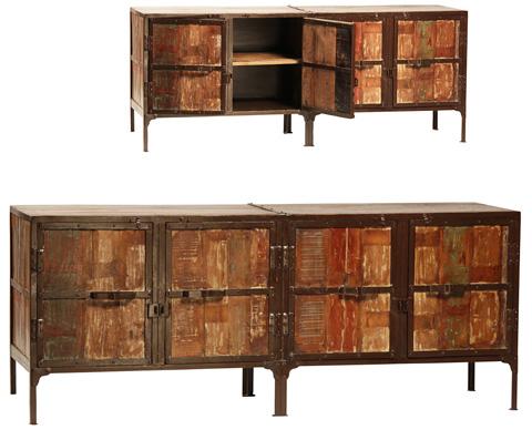 Dovetail Furniture - Dresden Plasma Cabinet - NE64