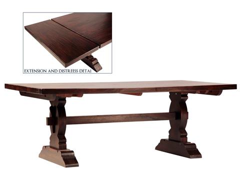 Dovetail Furniture - Cordoba Extension Dining Table - SE5010DE
