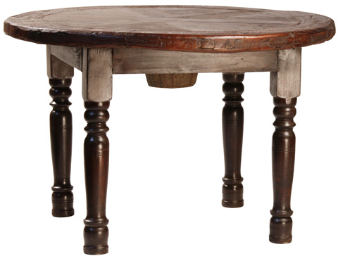 Dovetail Furniture - Wheel Dining Table - SEL010