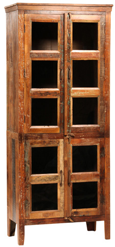 Dovetail Furniture - Nantucket Glass Cabinet - SEM037