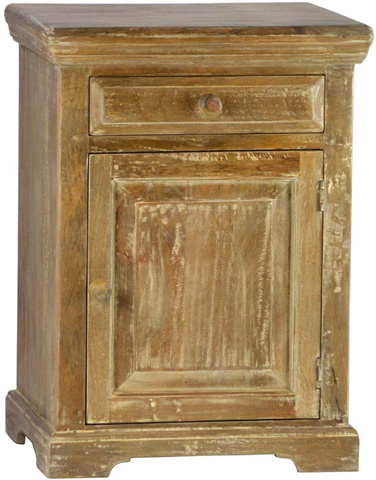 Dovetail Furniture - Shanti Nightstand in Lucca - SH1465LUC