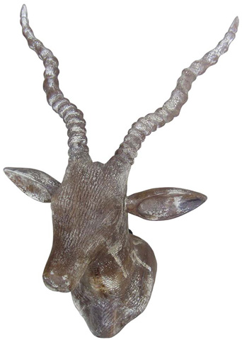 Dovetail Furniture - Wooden Deer Head - AN076