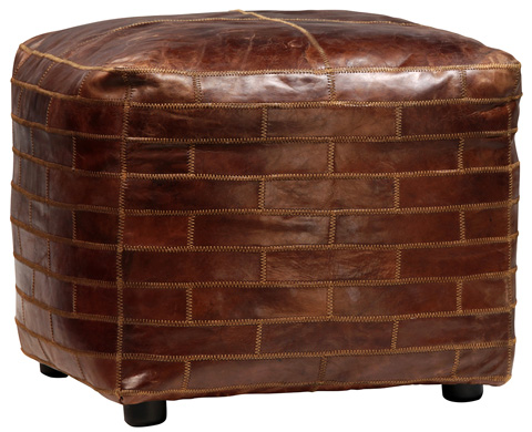 Dovetail Furniture - Zoe Ottoman - DOV1151