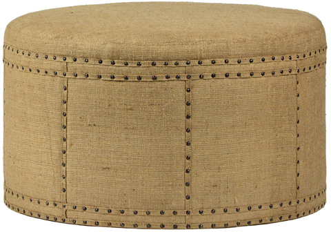 Dovetail Furniture - Cannes Ottoman - DOV2364