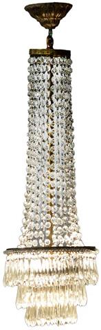 Dovetail Furniture - Lotus Chandelier - DOV2494