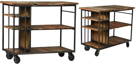 Dovetail Furniture - Burnley Trolley - DOV2685
