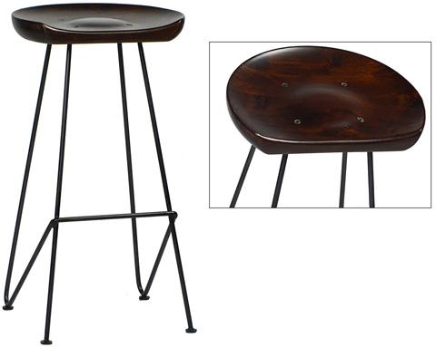 Dovetail Furniture - Flynn Barstool - DOV2883BS