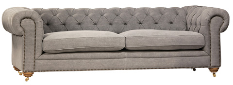 Dovetail Furniture - Tipton Sofa - DOV3122