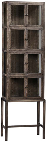Dovetail Furniture - Bryanston Tall Cabinet - DOV3207