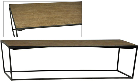 Dovetail Furniture - Braxton Coffee Table - DOV3449