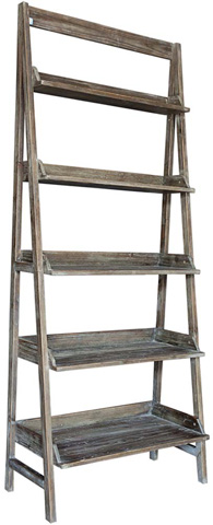 Dovetail Furniture - Daniels Bookshelf - DOV4813