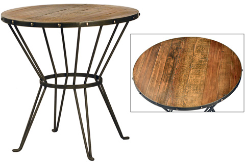 Dovetail Furniture - Caine Side Table - DOV5141