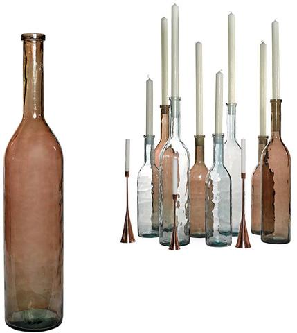 Dovetail Furniture - Rioja Bottle-Large - DOV6503BR