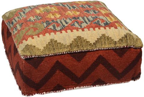 Dovetail Furniture - Eshani Pouf - DOV8204