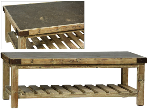 Dovetail Furniture - Bristol Coffee Table - DOV866