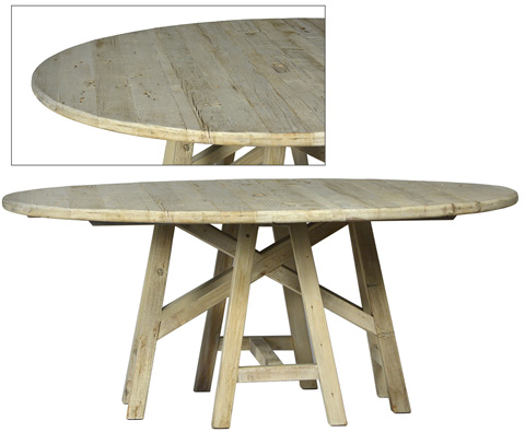 Dovetail Furniture - Madison Dining Table - DOV9824
