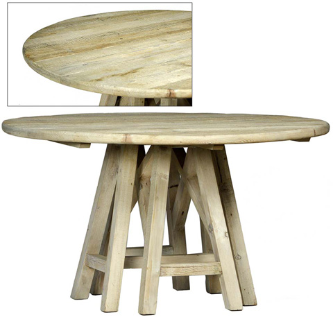 Dovetail Furniture - Madison Dining Table - DOV9825