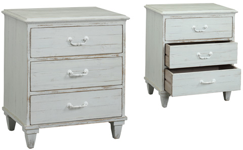 Dovetail Furniture - Dudley Nightstand - DOV9839