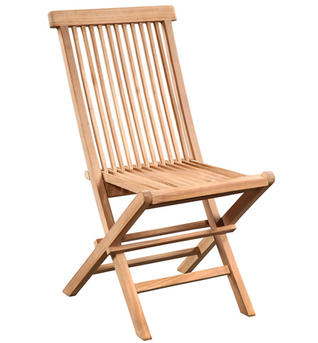 Dovetail Furniture - Ashdown Outdoor Folding Chair - BJ001