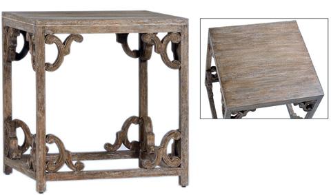 Dovetail Furniture - Borreze Lamp Table - DOV2371