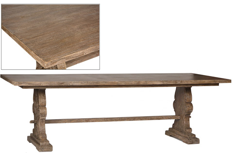 Dovetail Furniture - Mercer Dining Table - DOV2377