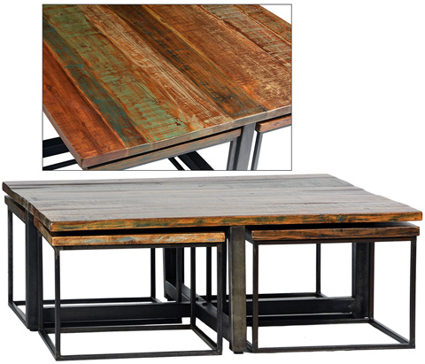 Dovetail Furniture - Madison Square Coffee Table - DOV2876