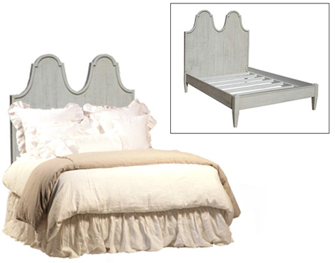 Dovetail Furniture - Cassidy Bed in Queen - DOV2928Q