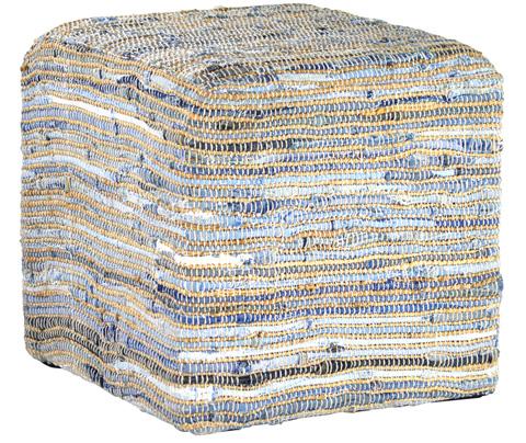 Dovetail Furniture - Assam Ottoman - DOV3005