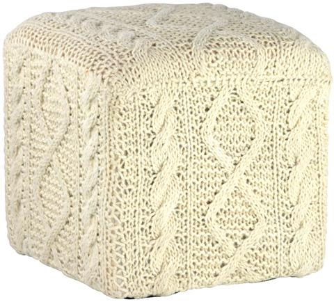 Dovetail Furniture - Basna Ottoman - DOV3009